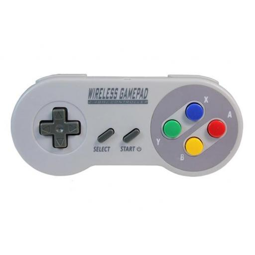 Mando Inalambrico USB Super Nintendo Mini SNES Raspberry PC Android [1]