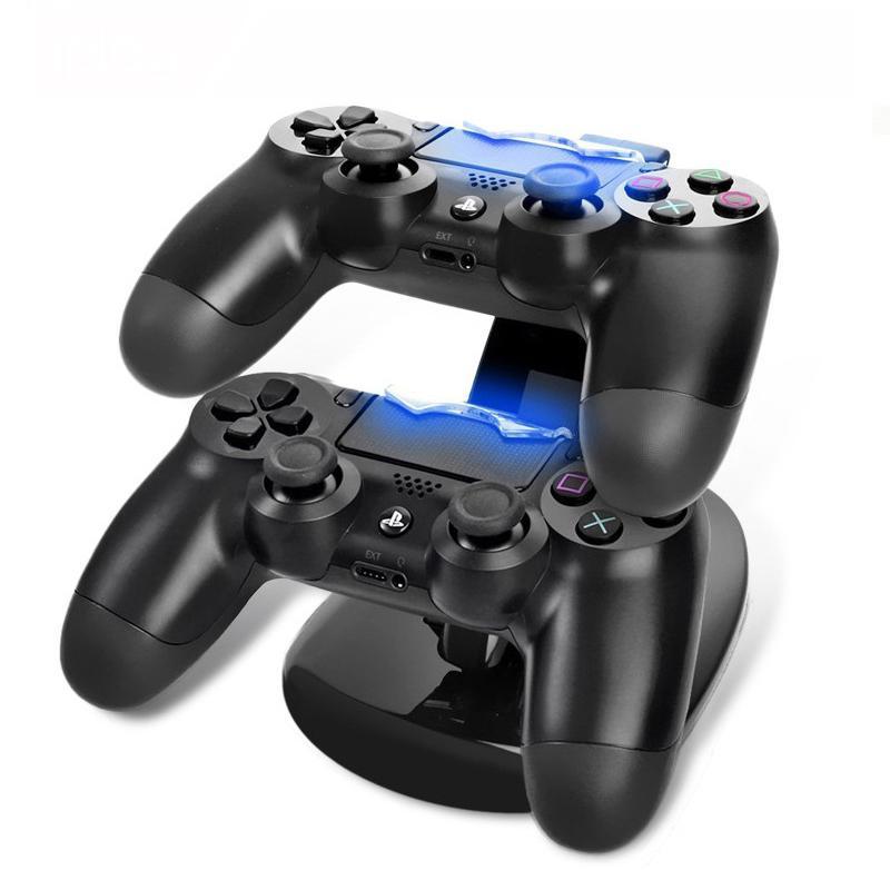 Base Mando de Playstation 4 - Cargador DualShock 4 Soporte Pro