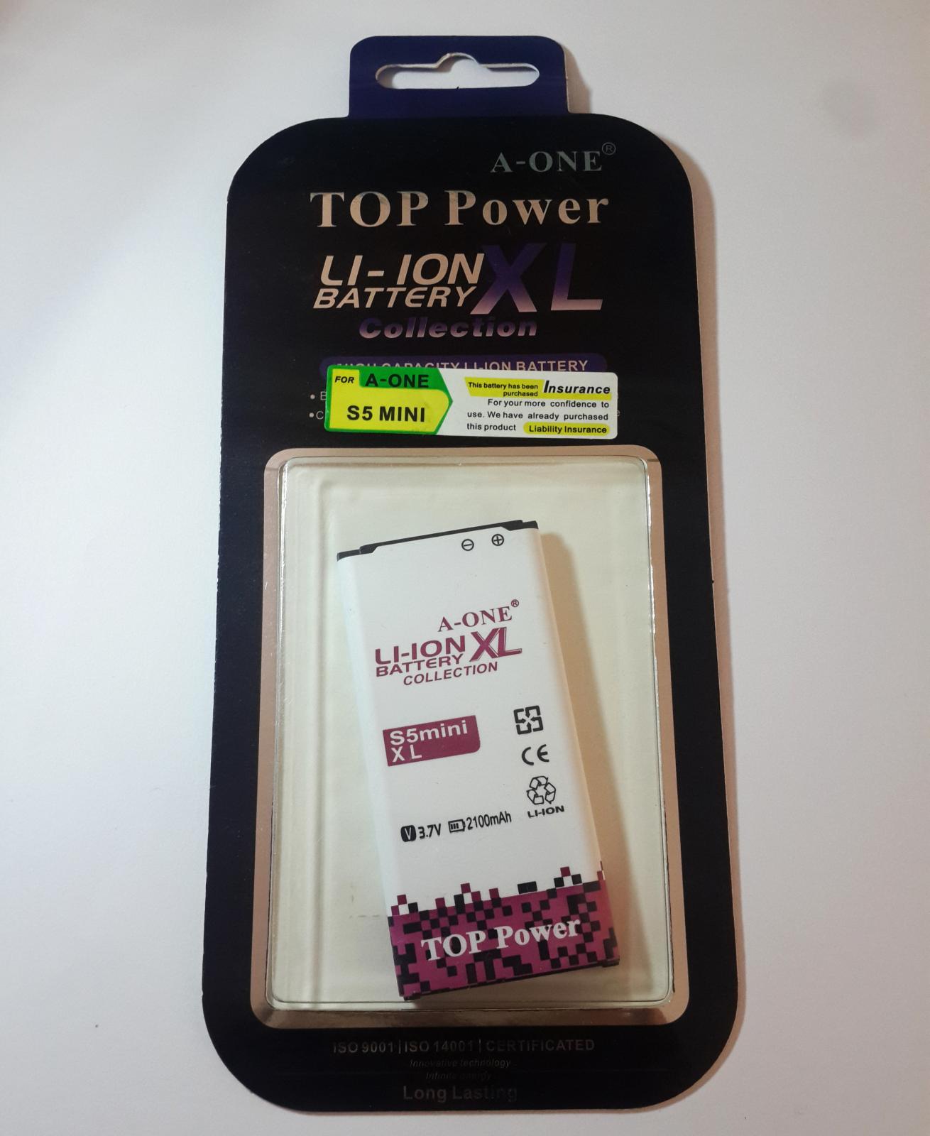 Batería de Móvil Samsung S5 Mini - EB-BG800BBE
