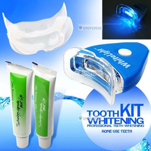 Blanqueamiento Dental Kit Lampara Led + Gel Blanqueador Profesional [3]