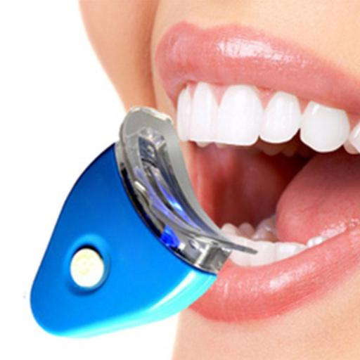 Blanqueamiento Dental Kit Lampara Led + Gel Blanqueador Profesional