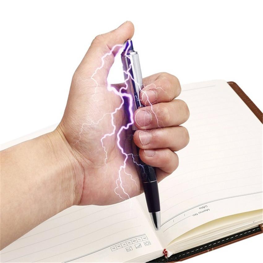 Boli de Broma Descarga Eléctrica Boligrafo divertido truco