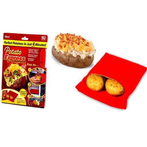 Bolsa Patata Quick! Patatas Asadas en Microondas en 4 minutos [1]