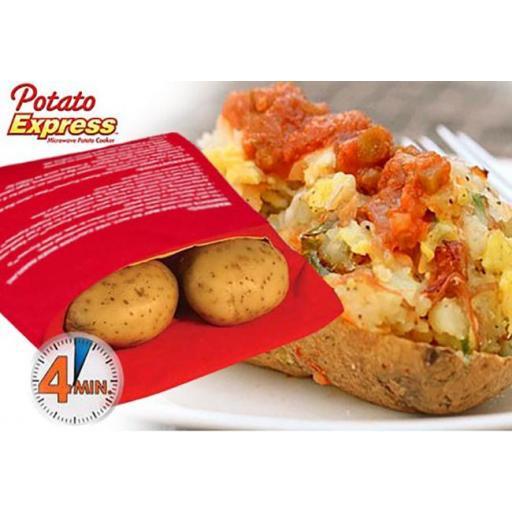 Bolsa Patata Quick! Patatas Asadas en Microondas en 4 minutos [2]