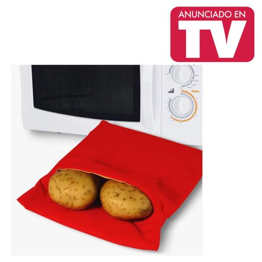 Bolsa Patata Quick! Patatas Asadas en Microondas en 4 minutos