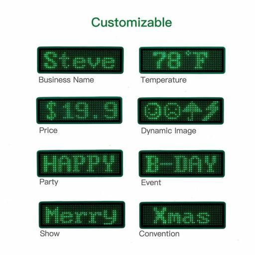 ¡Buen Regalo! Led Bluetooth para Mensajes y Nombres - Cartel [1]