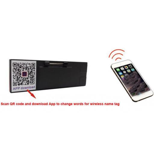 ¡Buen Regalo! Led Bluetooth para Mensajes y Nombres - Cartel [3]