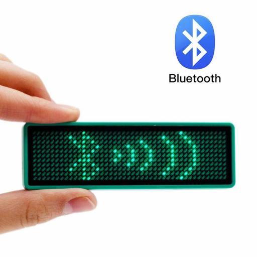 ¡Buen Regalo! Led Bluetooth para Mensajes y Nombres - Cartel