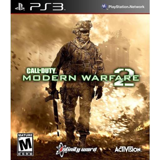 CALL OF DUTY MODERN WARFARE 2 COD MW 2 PLAYSTATION 3 PS3! PAL CASTELLANO