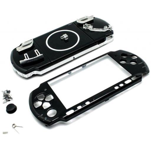 Carcasa Completa De Psp Slim / Fina Slim 3000 3004 3006 Sony
