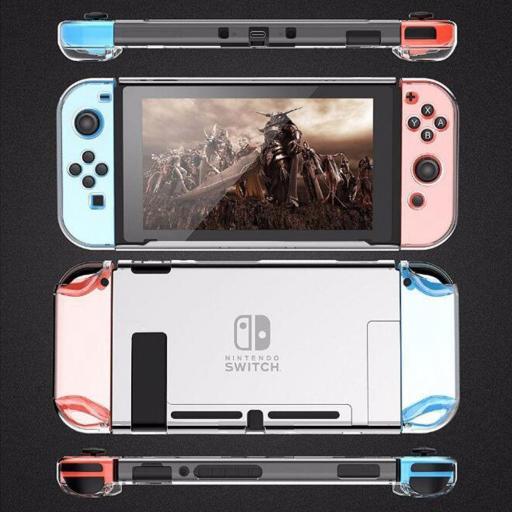 Carcasa Funda Switch Transparente Protector Nintendo Swich [3]