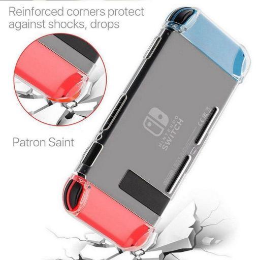 Carcasa Funda Switch Transparente Protector Nintendo Swich [1]