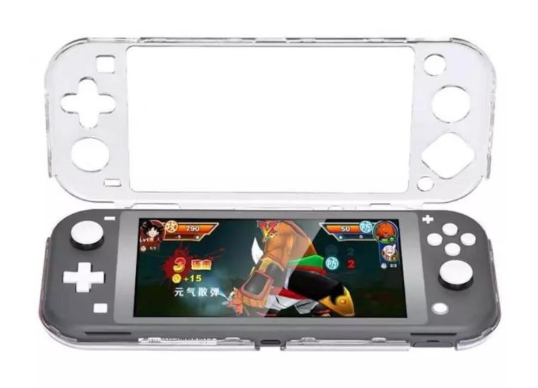 Carcasa Nintendo Switch Lite transparente | pequeña swich