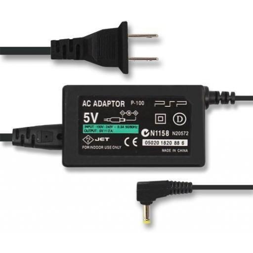 Cargador de PSP 1000 / 2000 / 3000 y Otros! para Red - 5V