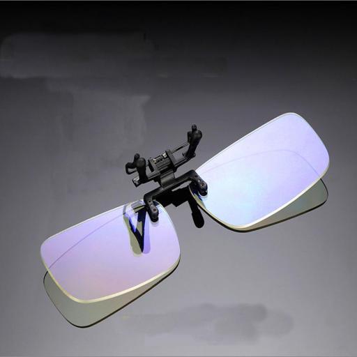 Clip Gafas anti Luz Azul | Filtro bloqueo ordenador