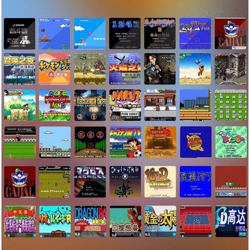 Consola Portátil Emuladora Con 10000 Juegos Clásicos NES GBA SMC [2]