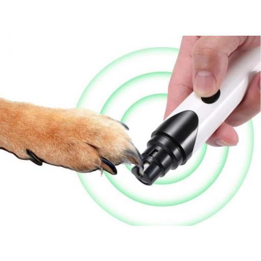 Corta uñas de Perros Gatos Eléctrico Amoladora para Mascotas [3]