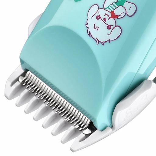 Cortapelos para bebés eléctrico silencioso resistente al agua [1]