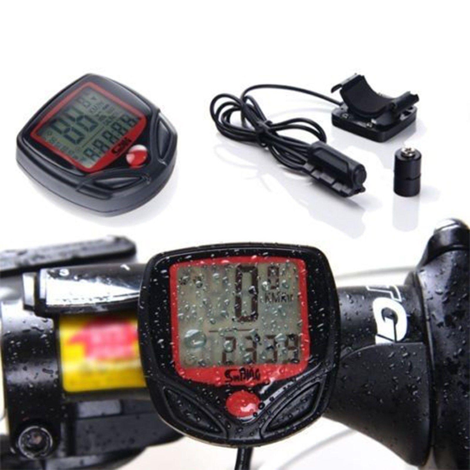 Cuentakilometros Velocimetro De Bicicleta / Bici 14 Funciones