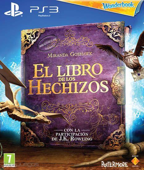 EL LIBRO DE LOS HECHIZOS MAS EL WONDER BOOK PS3 PLAYSTATION 3! PAL CASTELLANO