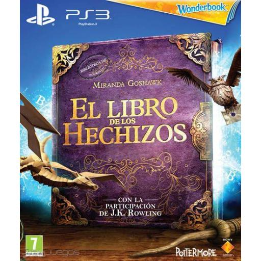EL LIBRO DE LOS HECHIZOS MAS EL WONDER BOOK PS3 PLAYSTATION 3! PAL CASTELLANO