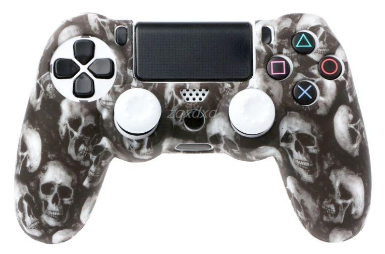 Funda Mando Playstation 4 de Calavera / Cráneo de Silicona PS4