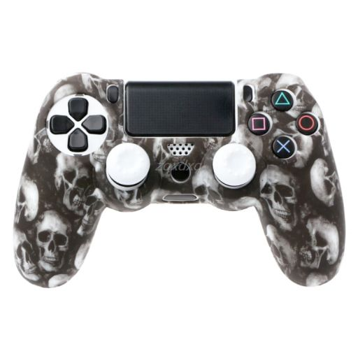 Funda Mando Playstation 4 de Calavera / Cráneo de Silicona PS4 [0]