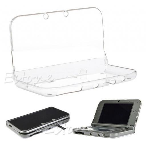Funda Protector Nintendo New 3DS XL Carcasa Transparente N3DS