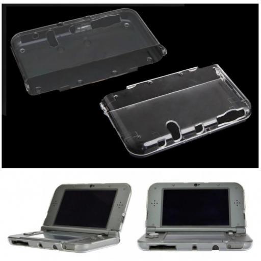 Funda Protector Nintendo New 3DS XL Carcasa Transparente N3DS [1]