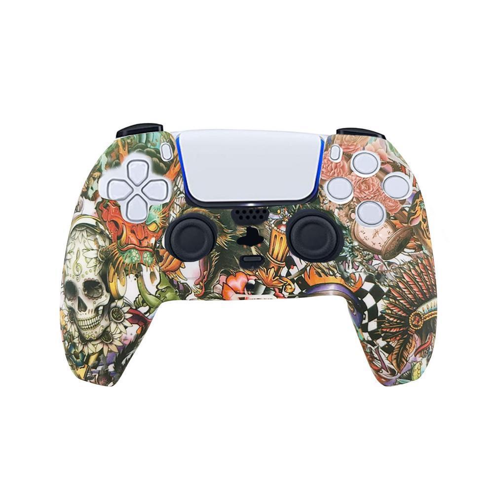 Funda mando PlayStation 5 PS5 | calaveras artesanales