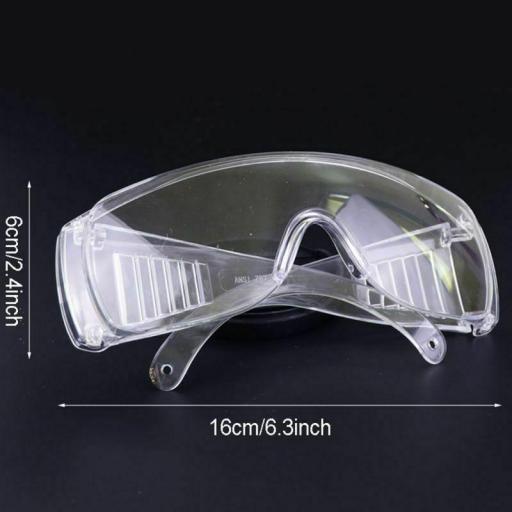Gafas AntiVirus de Seguridad Transparentes Protección e Ojos [2]