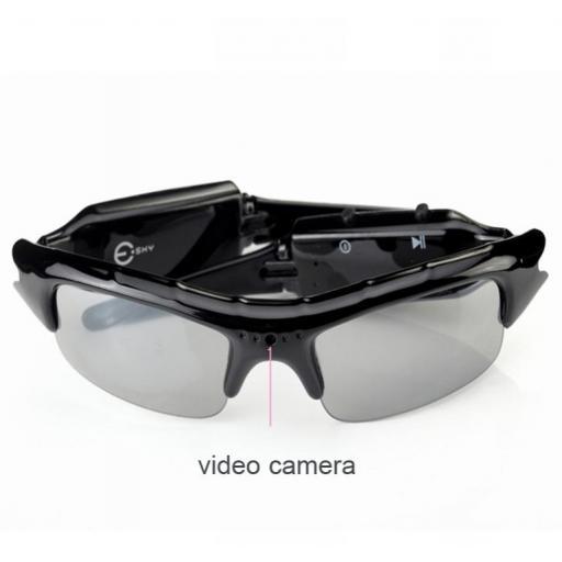 Gafas De Sol Con Cámara Oculta (Espía) HD 720P [0]