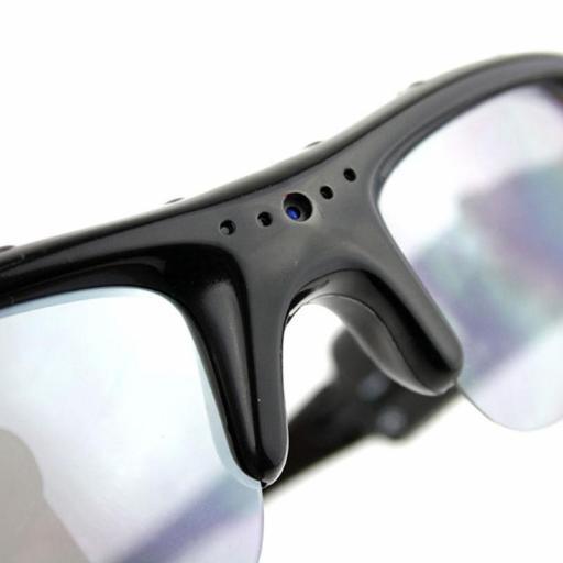 Gafas De Sol Con Cámara Oculta (Espía) HD 720P [3]