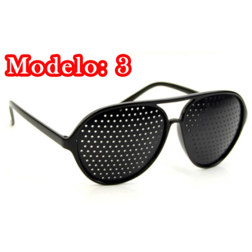 Gafas Estenopeicas Reticulares Agujeritos - Anti Miopía Y Otros [3]