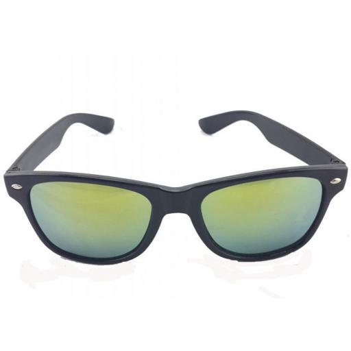 Gafas Estilo Espejo Verde Oro de Sol Para para Hombres y Mujeres [1]