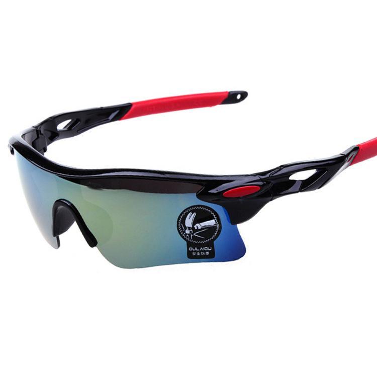 Gafas Grandes Negras de Ciclismo Running Montaña Protector