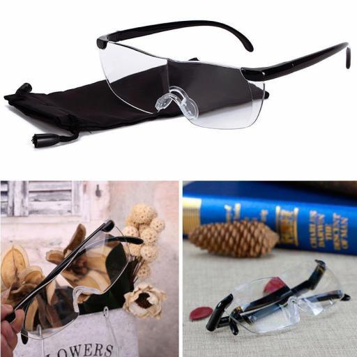 Gafas Lupa 160% De Aumento Presbicia Para Lectura Leer [2]