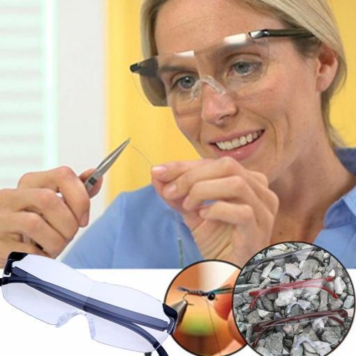 Gafas Lupa 160% De Aumento Presbicia Para Lectura Leer