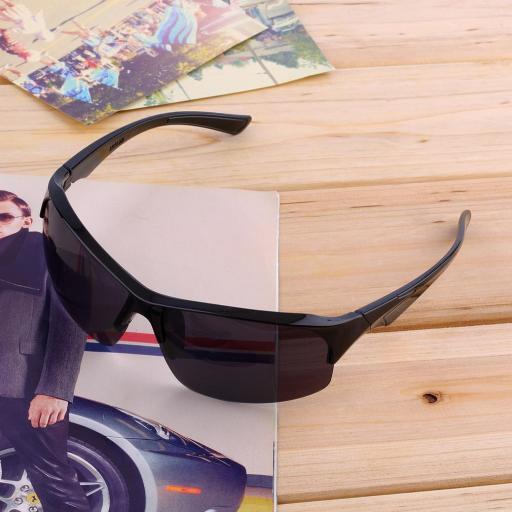 Gafas Moto Biker Negras de Sol Motociclista Motocicleta [3]