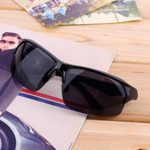 Gafas Moto Biker Negras de Sol Motociclista Motocicleta [2]