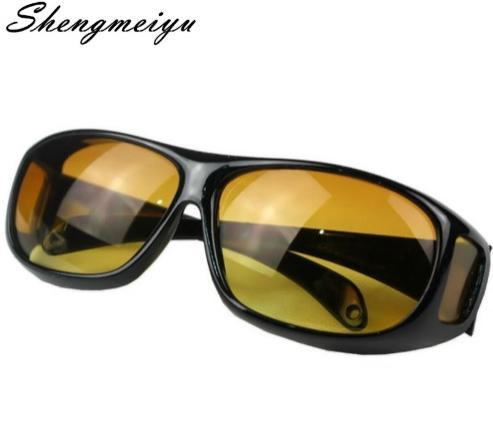 Gafas Negras de Lentes Amarillas Visión Anti Reflejo Conducción