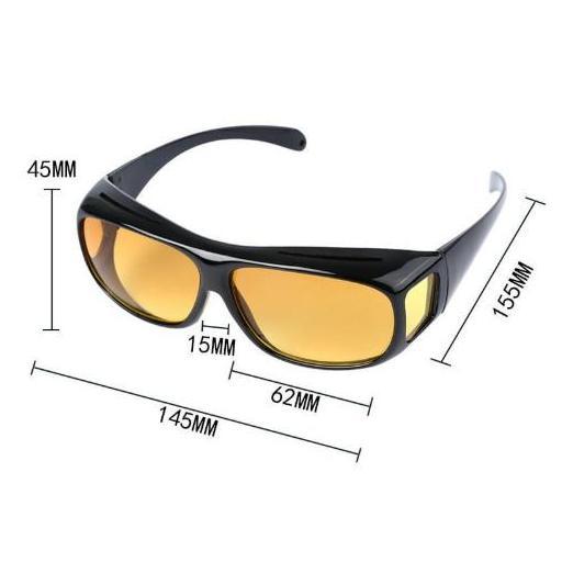 Gafas Negras de Lentes Amarillas Visión Anti Reflejo Conducción [1]