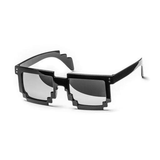 Gafas Pixeladas 8 Bit De Sol Gamer Geek Retro Pixel Unisex [1]