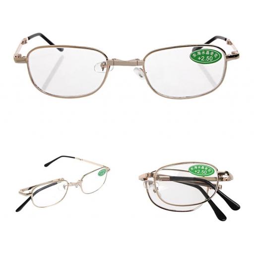 Gafas Plegable De Lectura De Diferentes Dioptrías Hombre Mujer [2]