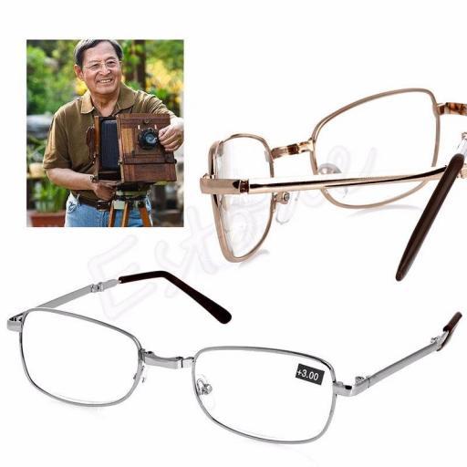 Gafas Plegable Diferentes Dioptrías - Unisex +1.00 +1.50 +2.00 y Más [1]