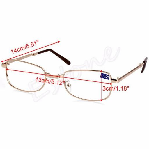 Gafas Plegable Diferentes Dioptrías - Unisex +1.00 +1.50 +2.00 y Más [2]
