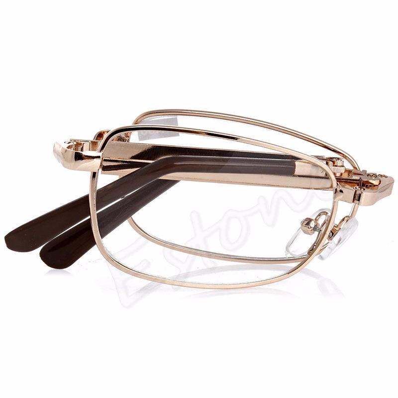 Gafas Plegable Diferentes Dioptrías - Unisex +1.00 +1.50 +2.00 y Más