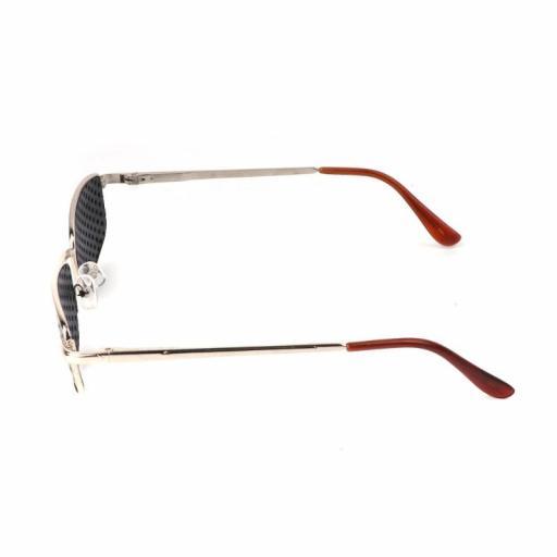 Gafas Reticulares Estenopeicas de Metal - Anti Presbicia Miopía [3]