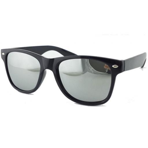 Gafas Tipo Espejo Plateado De Sol Para  Hombres y Mujeres