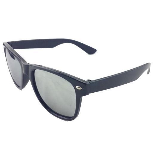 Gafas Tipo Espejo Plateado De Sol Para  Hombres y Mujeres [1]
